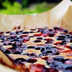 Cake met bosbessen