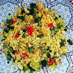 Salade met couscous