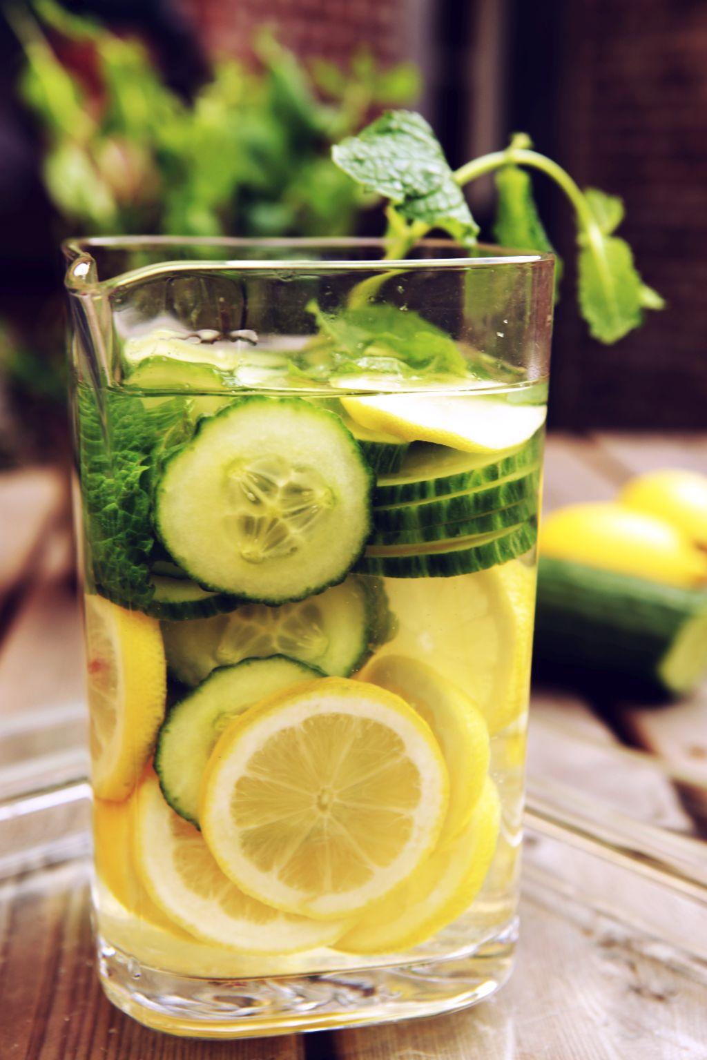 afvallen met citroen peterselie